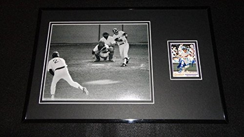 - Bucky Dent Signed Photograph - Framed 11x17 Display HR - Autographed MLB Photos