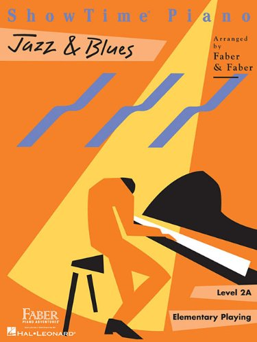 ShowTime  Jazz & Blues: Level 2A (Showtime Piano) (Country Piano Jazz)