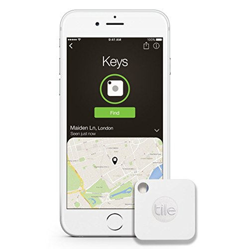 Tile Mate Key Finder - 4 Pack - White (Renewed)