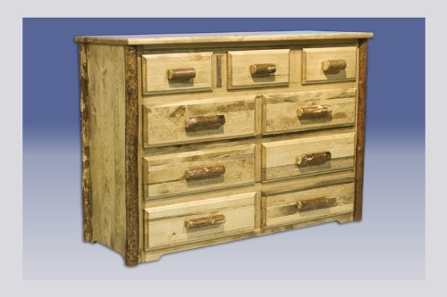 Montana Woodworks MWGC9D Glacier Country Collection 9-Drawer Dresser
