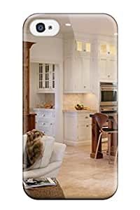 New Style Case Cover Open White Kitchen With Keeping Room Compatible With Iphone 4/4s Protection Case