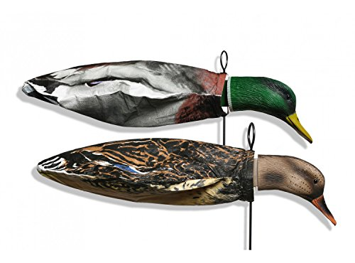Deadly Decoy Feeder Head Mallard Duck Decoy, Multicolor