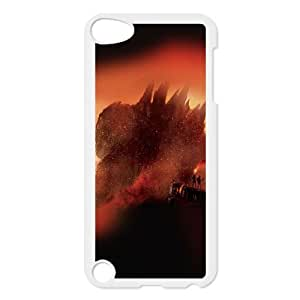 iPod Touch 5 Case White Godzilla Poster 2014 LV7960851