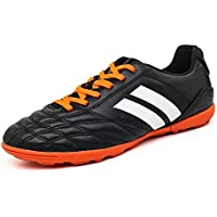 YING LAN Men's Boys Turf Cleats Soccer Athletic Football Outdoor/Indoor Sports Shoes TF