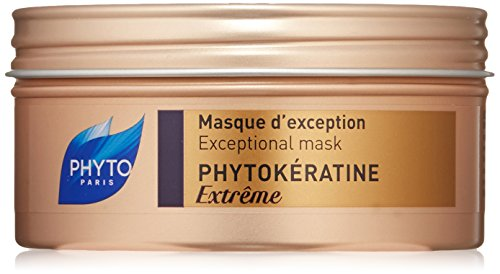 PHYTOKÉRATINE EXTRÊME Botanical Exceptional Mask | Ultra-Weak, Damaged, Brittle, Dry Hair | Provides Nutrition & Shine, Restores Elasticity, Reduces Breakage | Shea Butter | Sulfate Free, Paraben Fr