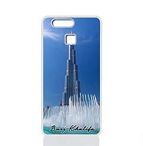 IMPRESS HUAWEI P9 2016 Hard Case with Burj Khalifa Design