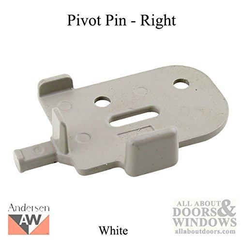 Andersen Tilt-Wash (DC) and Tilt-Wash (TW) Windows - Pivot Pin - Right, White
