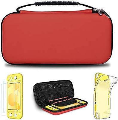 Simpeak 5 en 1 Kits Compatible con Nintendo Switch Lite, Protector ...