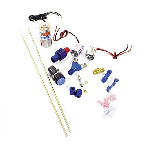 NOS 16037NOS Intimidator Illuminated Dual LED Nitrous Purge Kit