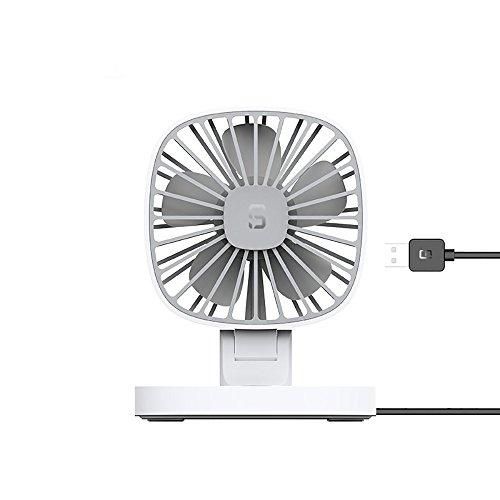 (Luca 12V USB Electric Car Fan,Portable Rotatable Car Cooling Fan, Quiet Powerful Car Air Circulator Fan for All Family Car)