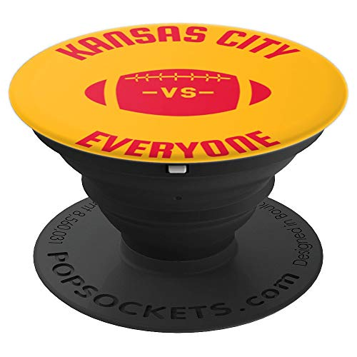 80dea6ecc99 Kansas City VS Everyone Season Trend Men Women Perfect Gift - PopSockets  Grip and Stand for Phones and Tablets