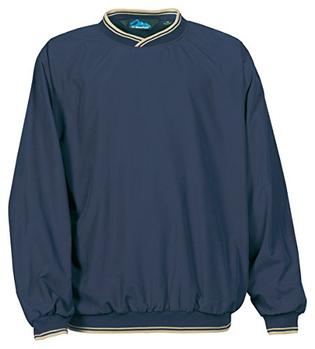 Tri Mountain All-Season Microfiber Windshirt 2560 Atlantic,Navy / Khaki,XX-Large