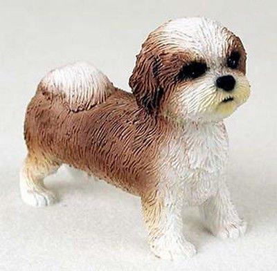 Amazoncom Simply Silver Shih Tzu Tan White Puppy Sport Cut Dog