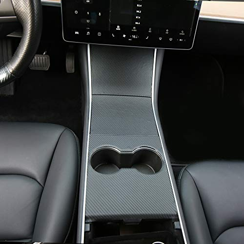 New For Tesla Model 3 Car Center Console Wrap Kit Decor Cover Sticker Protection