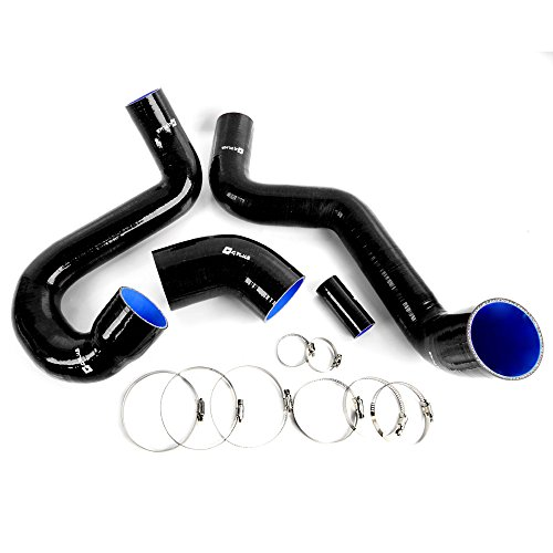 Turbo Intercooler Boost Silicone Hose Kit Fit For SAAB 95 1998-2008 Black