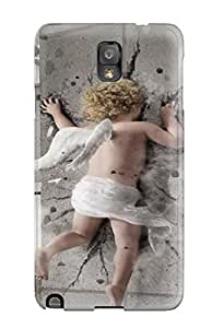 New Style ZippyDoritEduard Cupid Hitting A Wall Fantasy Abstract Fantasy Premium Tpu Cover Case For Galaxy Note 3