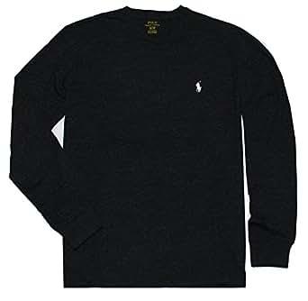 Polo Ralph Lauren Men's Long Sleeve Pony Logo T-Shirt - X-Small - Black Charcoal
