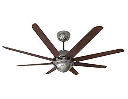 129245eb590 Buy Havells Octet 1320mm Ceiling Fan with Remote (Brushed Nickel ...