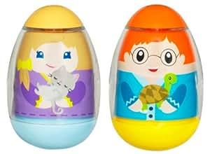 Hasbro Playskool Weebles 2 figuras Mascotas - Muñecos tentempié (2 unidades)