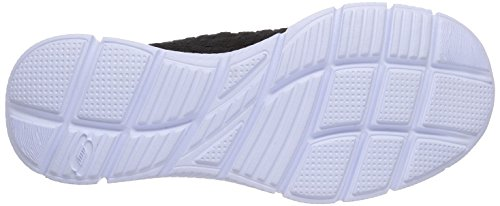 Skechers EqualizerFamiliar - zapatilla deportiva de material sintético hombre negro - negro