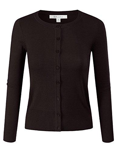 Button Crewneck Sweater - 8