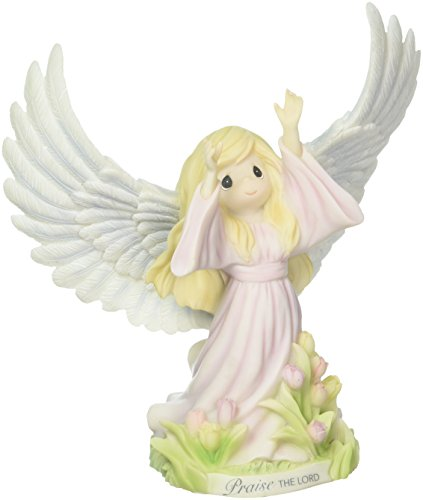 Precious Moments Praise The Lord Inspirational Angel Resin Figurine 172412