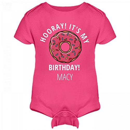 Girls Hooray It's My Birthday Macy: Infant Rabbit Skins Lap Shoulder - Birthday Macy's