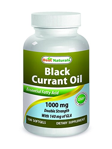 Cheap Best Naturals Black Currant Oil 1000 mg Double Strength 100 Softgels