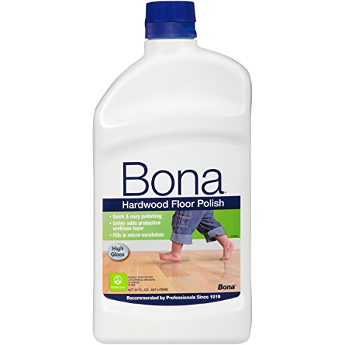 Gloss Hardwood Floors - Bona Hardwood Floor Polish - High Gloss, 32 oz.