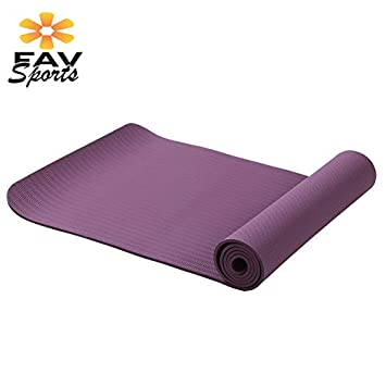 YOOMAT 6MM Thick Foam Yoga Mat Tasteless Pilates Exercises ...
