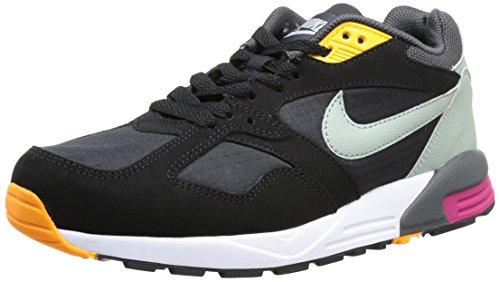 Nike Air BaSE II 554705-005 - Zapatillas deportivas para hombre, color negro, talla 40 Negro (BLK/S SPRy-DRK Gry-BRGHT MGNT)