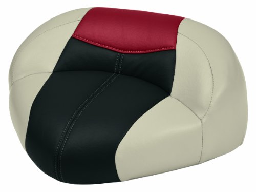 Wise Blast-Off Oversize Frame Pro Casting Seat,  (Mushroom/Black/Red)