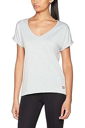 Camiseta Holgada para Mujeres para Deporte Yoga Gimnasio Entrenamientos de Ethical Activewear Designer Sundried® Relajante Cómoda Holgada Extra Suave de Sundried® (X-Small)