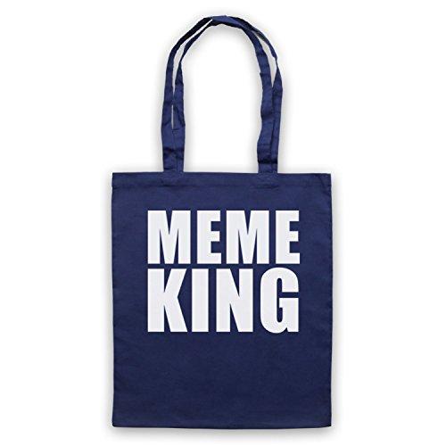 Meme King Meme Bolso Azur Marino
