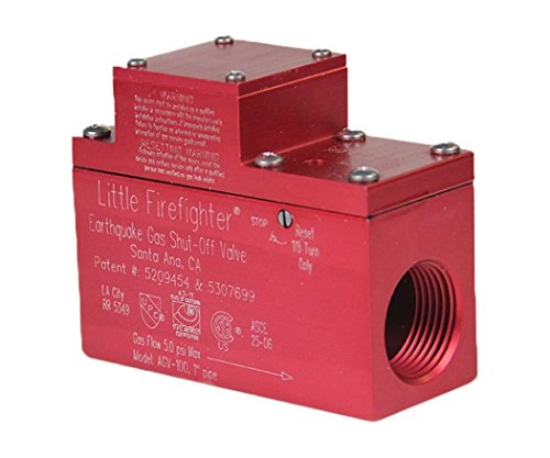Firefighter Gas Safety Products AGV-100 Horizontal Valve -