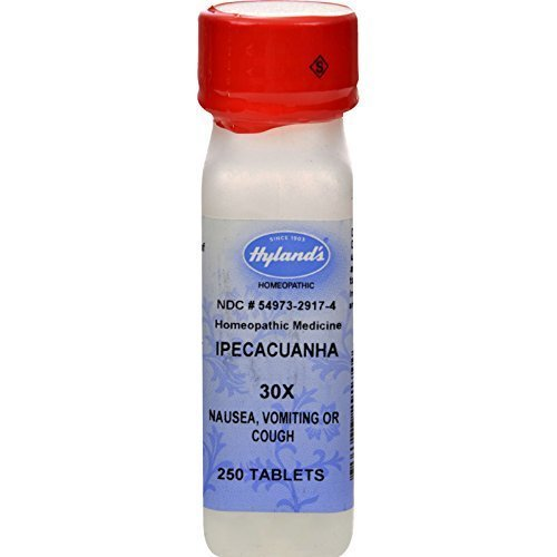 Hylands Homeopathic Ipecac 30X 250 Tab
