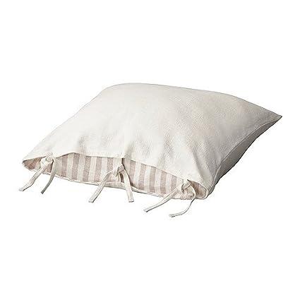 Amazon.com: IKEA URSULA – Funda de cojín, color blanco ...