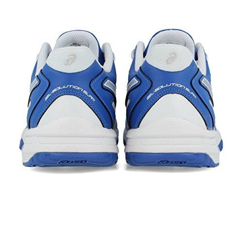 2 Homme Blanc Blue Solution Bleu Chaussures Gel Asics 2014 Slam Xvwc6qqP