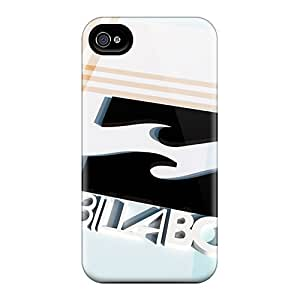 Scratch Protection Hard Phone Case For Iphone 4/4s With Provide Private Custom Attractive Billabong Image VIVIENRowland