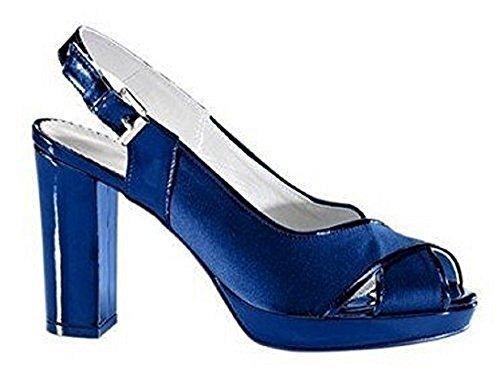 haupteingang Sandalette - Sandalias de Vestir Mujer azul - azul