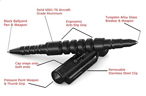 Off-Grid Tactical Pen, Jet Black