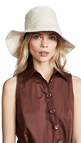 59c66c4f996969 Janessa Leone Women's Olivia Bucket Hat, Off White, ...