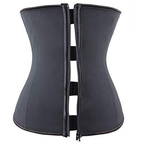 HeroStore Latex Body Shaper Girdle Waist Trainer Steel Boned Modeling Belt Tummy Control Shapers Slimming Shapewear Cincher