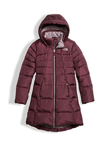 The North Face Youth Girls' Elisa Down Parka - zinfandel red, xs/6 by The North Face