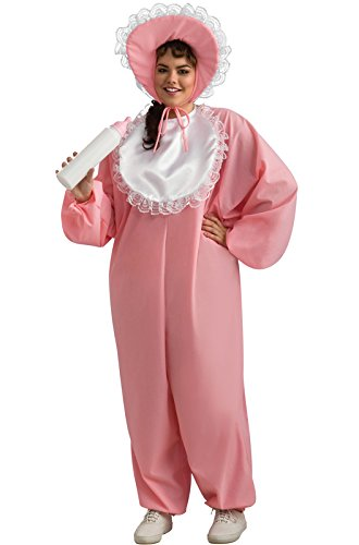 Rubie's Costume CO. Women's Plus Baby Girl Costume, As Shown, One -