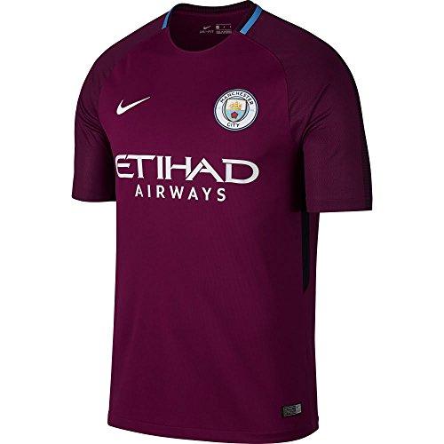 (NIKE 2017-2018 Man City Away Football Shirt (Kids))