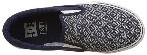 DC Shoes Damen, Sneaker, Trase j Shoe, Grau (Grey Feather Camo) Navy