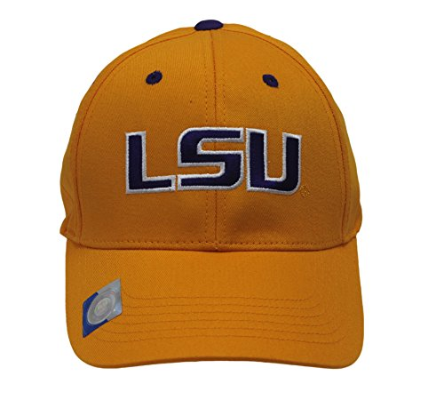 Captivating Headgear Men's Champ Fashion Louisiana State Univ. Tigers Embroidered Cap (State University Tigers Football)