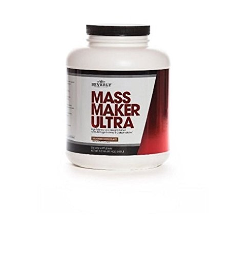 Beverly International Mass Maker Ultra Vanilla, 23 servings. Strongmen and mass monsters swear by this lean weight gainer.