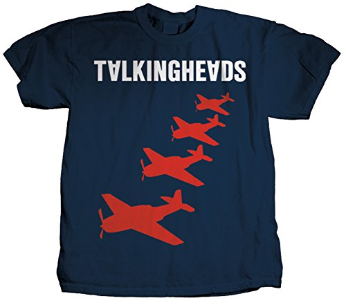 Talking Heads - Planes T-Shirt Size L (Head T Shirt compare prices)